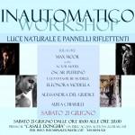 WORKSHOP DI LUCE NATURALE E PANNELLI RIFLETTENTI