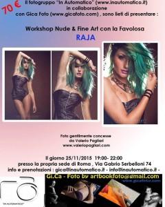 Workshop Nude & Fine Art with Raja