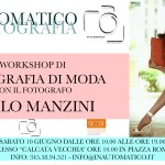 Workshop di Fotografia di Moda con Paolo Manzini