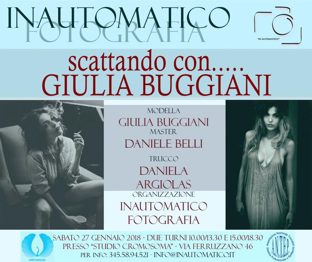 Scattando con…. Giulia Buggiani