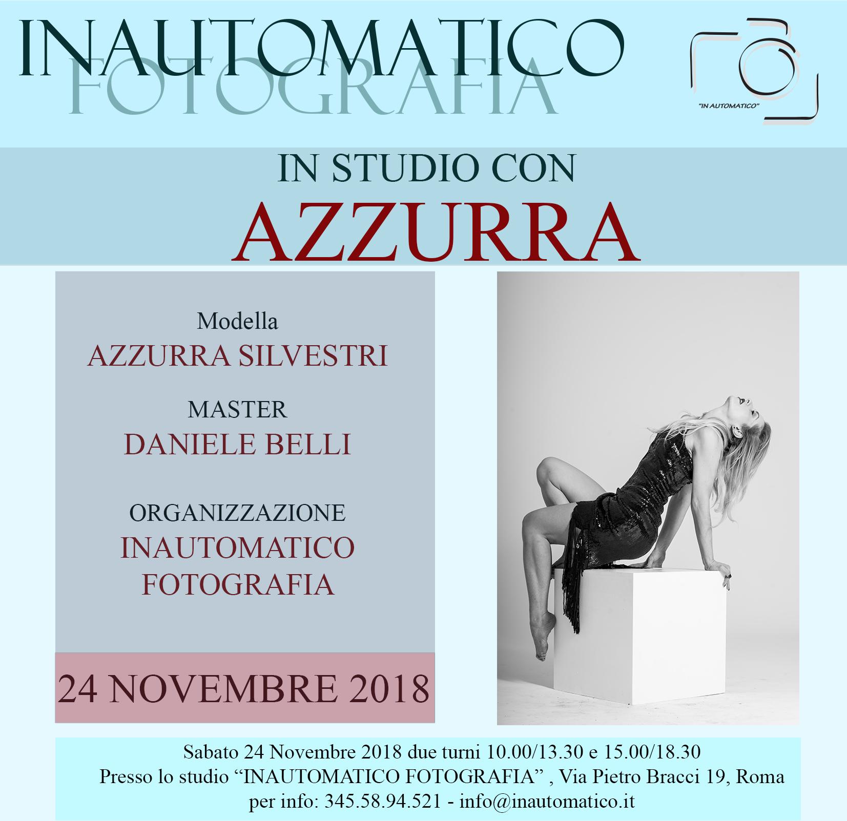 In studio con Azzurra