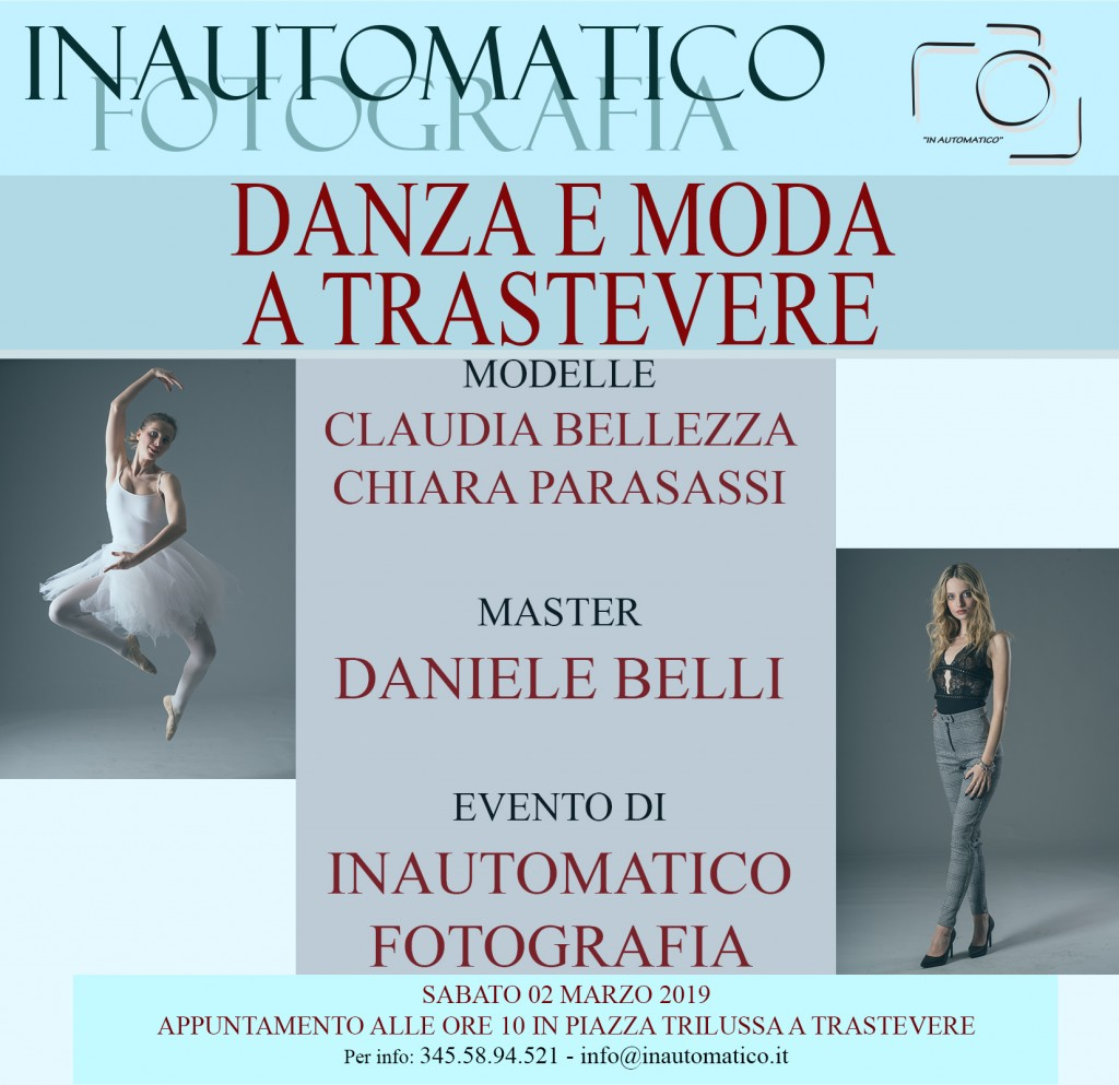 Danza e Moda a Trastevere