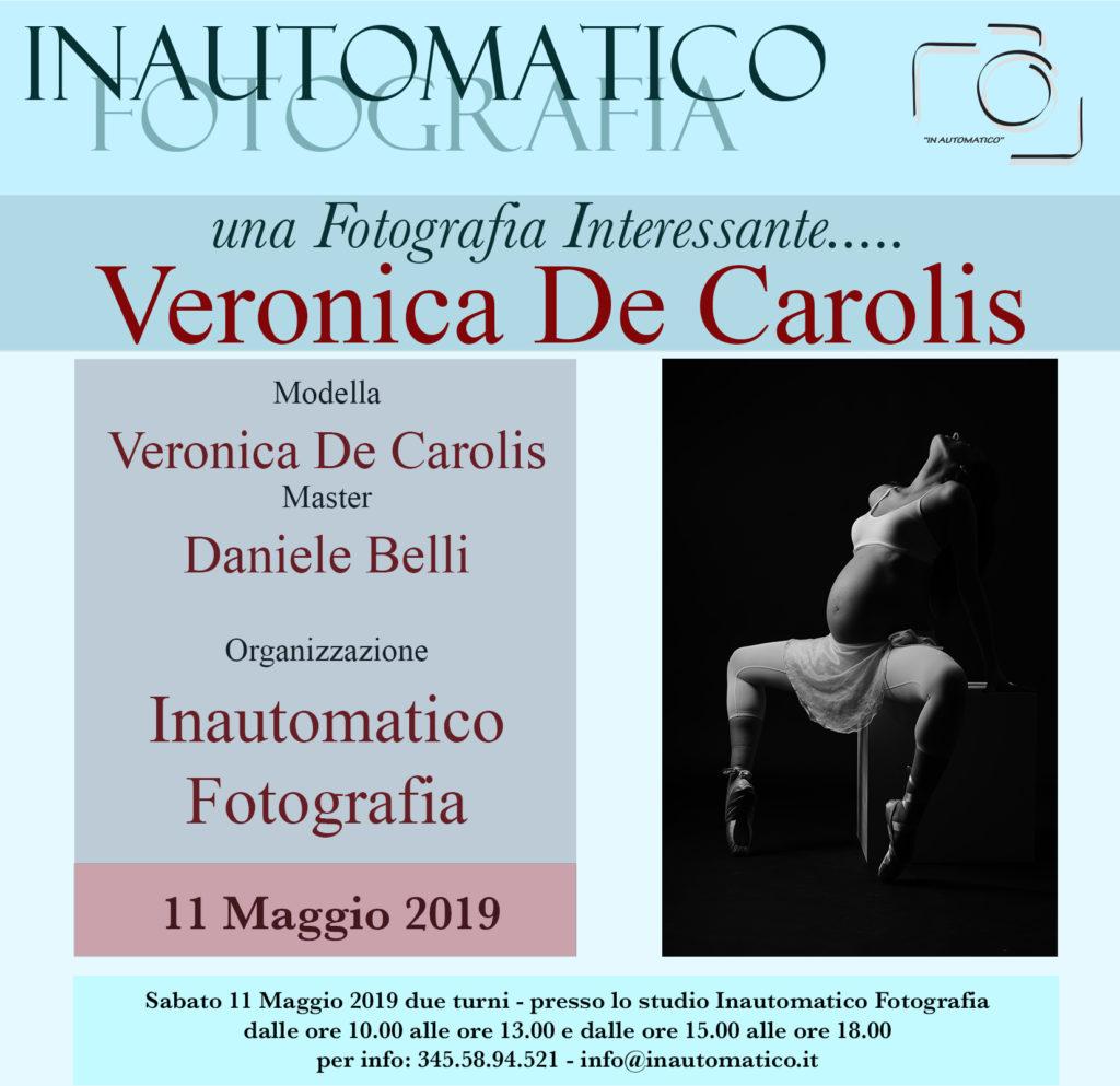 Una fotografia interessante con Veronica De Carolis