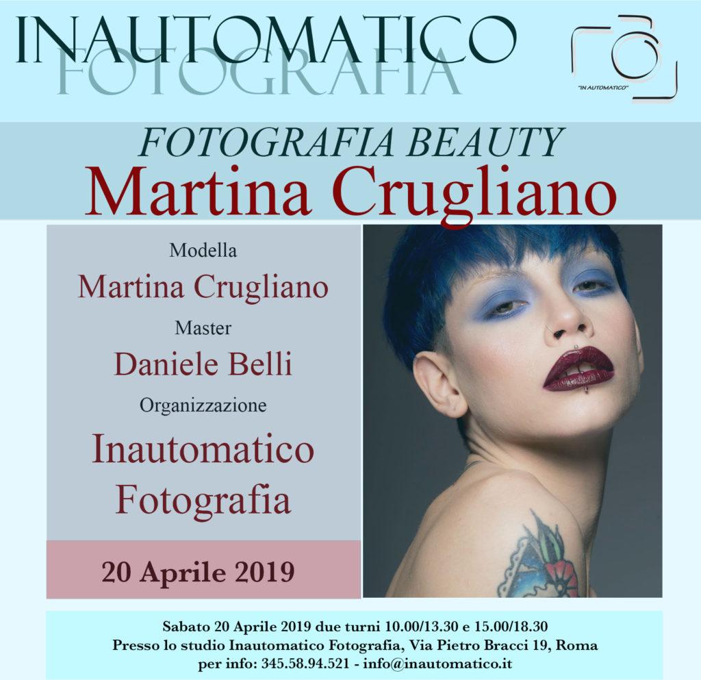 Fotografia beauty con Martina Crugliano
