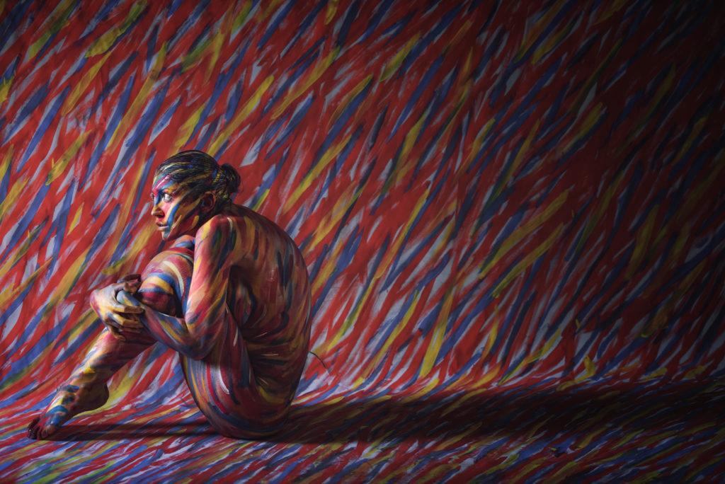 Body painting con Vera