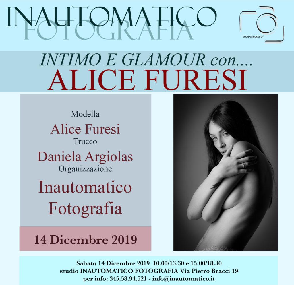 Intimo e glamour con Alice Furesi