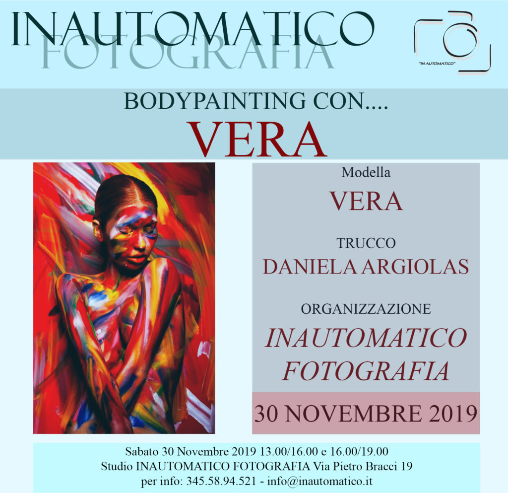 Bodypainting con Vera