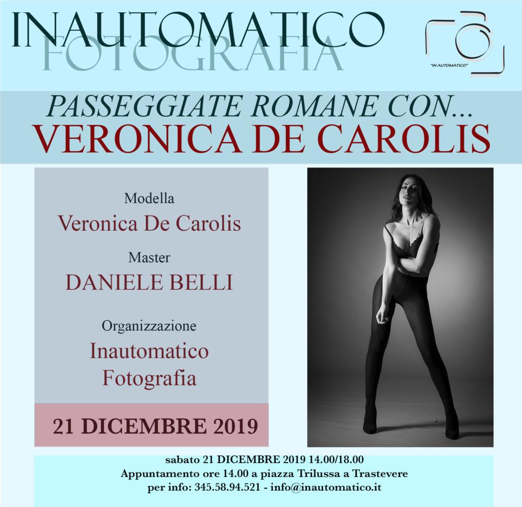 Passeggiate romane con Veronica De Carolis