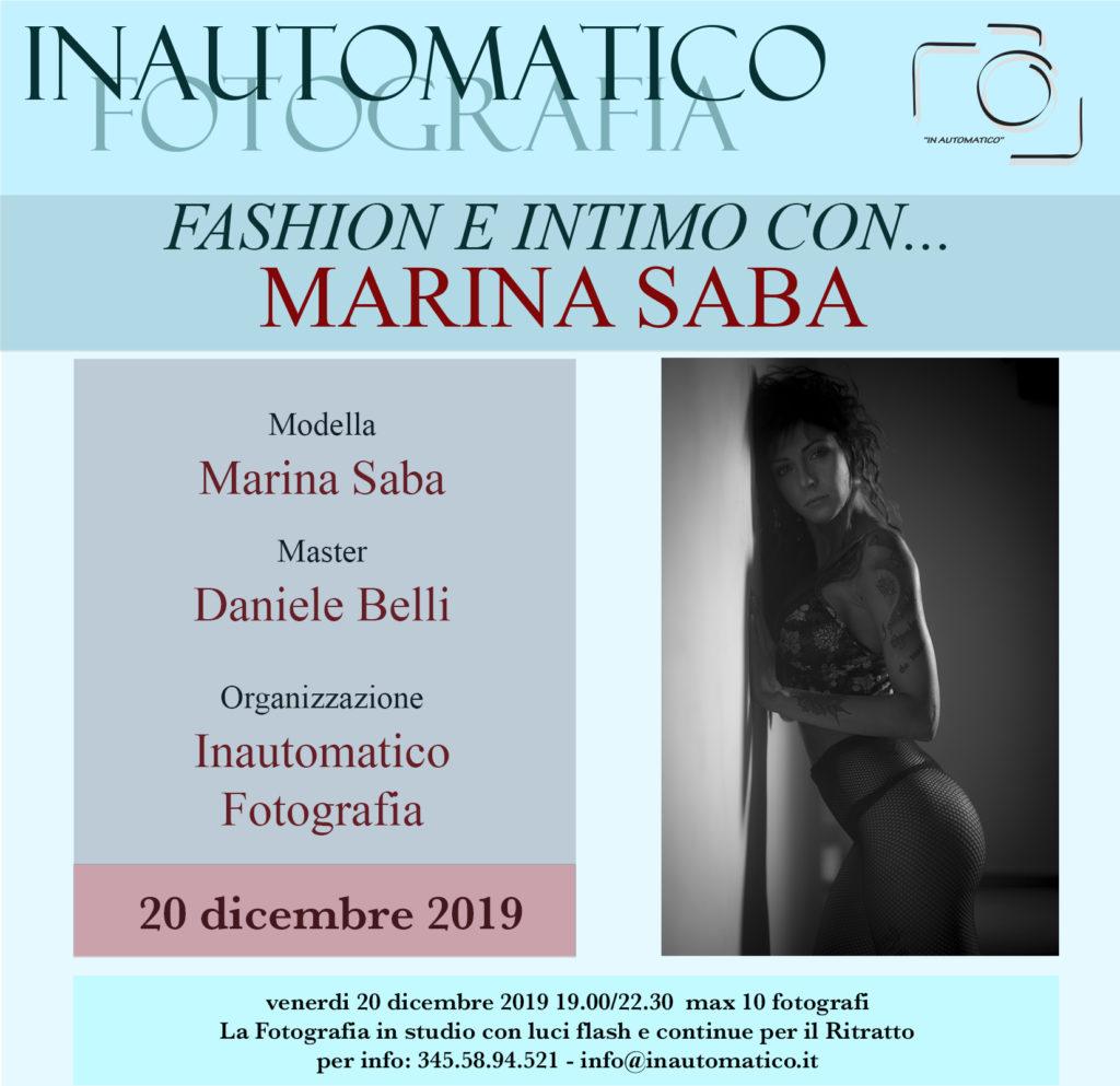 Fashion e Intimo con Marina Saba