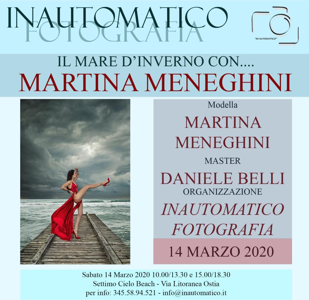 Il mare d'inverno con Martina Meneghini